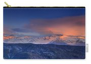 Mulhacen And Alcazaba And Veleta Panoramic Carry-all Pouch