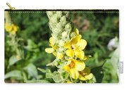 Mullein Wildflower Carry-all Pouch