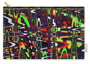 Multi Color Abstract Carry-all Pouch