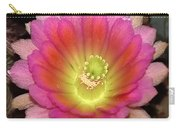 Multi Color Flower Carry-all Pouch