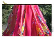 Multi-color Pink Skirt. Ameynra Design Carry-all Pouch