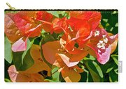 Multi-colored Bougainvillea At Pilgrim Place In Claremont-california  Carry-all Pouch