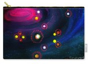 Multi-colored Constellation  Carry-all Pouch