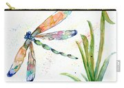 Multi-colored Dragonfly Carry-all Pouch