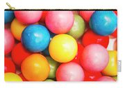 Multi Colored Gumballs. Sweets Background Carry-all Pouch