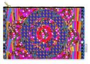 Multi Layered Colorful Flowers Christmas Wreath Style By Navinjoshi At Fineartamerica  Carry-all Pouch