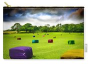 Multicolored Bales Fantasy Carry-all Pouch