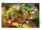 Multicolored Drops Carry-all Pouch