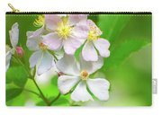 Multiflora Rose Carry-all Pouch
