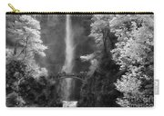 Multnomah Falls Bw Carry-all Pouch
