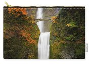 Multnomah Falls In Autumn Colors Carry-all Pouch