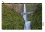 Multnomah Falls In Oregon State. Carry-all Pouch