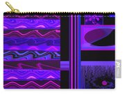 Mum Series - Abstract - Purple Haze Carry-all Pouch