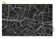 Munich Germany Dark Map Carry-all Pouch