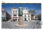 Municipal Square In Cascais Portugal Carry-all Pouch