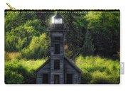 Munising Grand Island Lighthouse Upper Peninsula Michigan Vertical 01 Carry-all Pouch