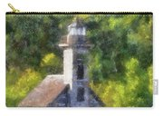 Munising Grand Island Lighthouse Upper Peninsula Michigan Vertical Pa 02 Carry-all Pouch