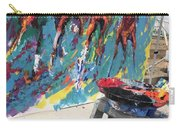 Mural Del Mar Race Track Carry-all Pouch