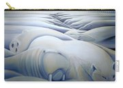 Mural  Winters Embracing Crevice Carry-all Pouch