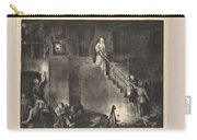 Murder Of Edith Cavell, First State By George Bellows 1882-1925 Carry-all Pouch