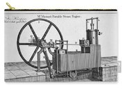 Murrays Portable Steam Engine, 19th Carry-all Pouch