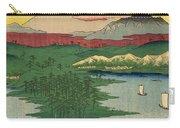 Musashi Noge Yokohama - Noge Yokohama In Musashi Province Carry-all Pouch