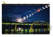 Muscatine Bridge Lunar Eclipse 9-27-15 Carry-all Pouch