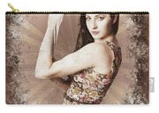 Muscle And Strength Pinup Poster Girl Carry-all Pouch