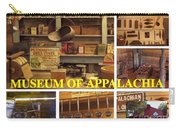 Museum Of Appalachia Block Collage Carry-all Pouch