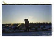 Mushers At Sunrise Carry-all Pouch