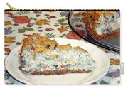 Mushroom And Crab Savory Cheesecake Carry-all Pouch