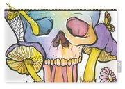 Mushroom Skull Carry-all Pouch
