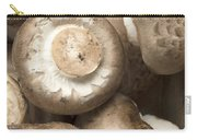Mushrooms Abstract Closeup Carry-all Pouch