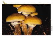 Mushrooms By Night Carry-all Pouch