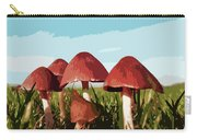 Mushrooms In Autumn Carry-all Pouch