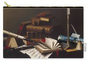 Music And Literature By William Michael Harnett Carry-all Pouch
