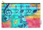 Music Is Everything In Colors Carry-all Pouch