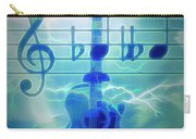 Music Is Everything Lightning Carry-all Pouch