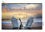 Music Is The Art Of The Soul Carry-all Pouch