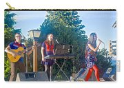 Musical Entertainers In Central Park In Bariloche-argentina Carry-all Pouch