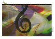 Musical Waves Carry-all Pouch