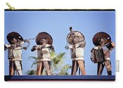 Musicians At The Hotel California Todos Santos Mx Carry-all Pouch