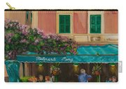 Musicians' Stroll In Portofino Carry-all Pouch by Charlotte Blanchard
