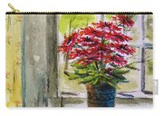 Musing-gerberas At The Window Carry-all Pouch