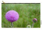 Musk Thistle Bloom Cycle Carry-all Pouch