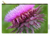 Musk Thistle Blooming Carry-all Pouch