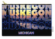 Muskegon Channel Sunset Carry-all Pouch