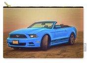 Mustang Ocean Shores Beach Carry-all Pouch