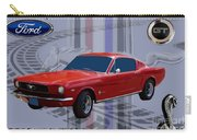 Mustang Poster Carry-all Pouch