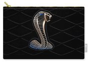 Mustang Shelby Logo Carry-all Pouch